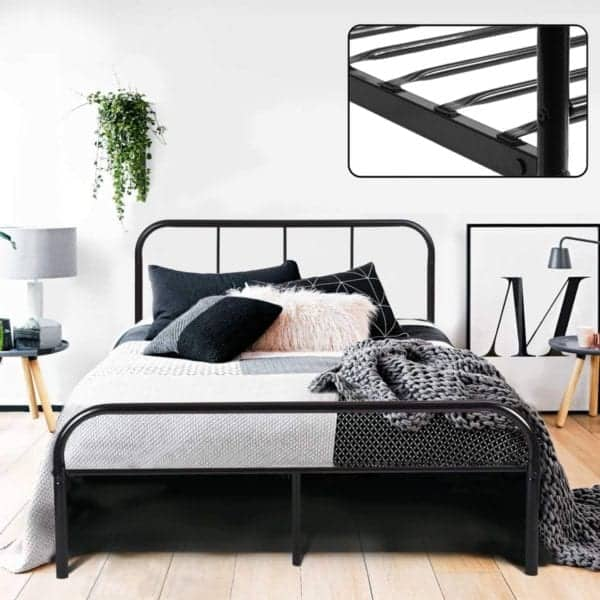 Coavas Double Bed Frame 4ft 6
