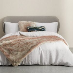 Adelphi Luxury Faux Fur Throw