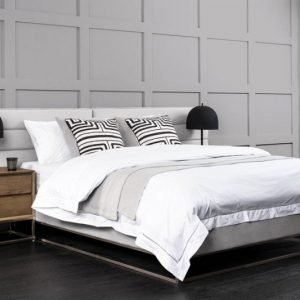 Barbican Bed Silver