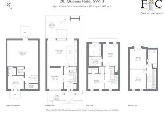 Property for sale in Queens Ride, Barnes SW13